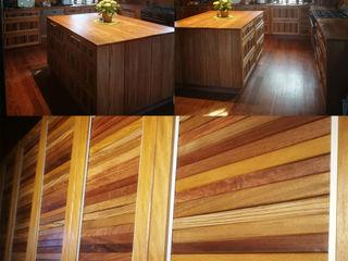 Finnscania Blockhausfabrik Built-in kitchens Wood Multicolored