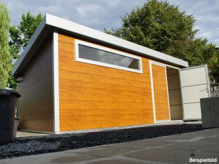 Trapezblech Gonschior oHG Garden Shed Metal Wood effect