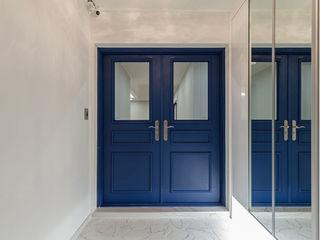 디자인스퀘어 Koridor & Tangga Modern Blue