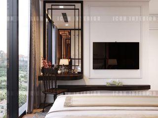 ICON INTERIOR Habitaciones de estilo asiático