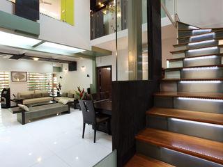 Architecture Continuous Pasillos, vestíbulos y escaleras de estilo moderno