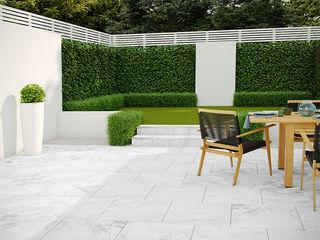 PorcelPave Outdoor Porcelain Tiles The London Tile Co. Pareti & PavimentiPiastrelle Porcellana Grigio