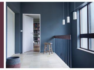 Einrichtungsplanung und -gestaltung, Eingangsfoyer BANDYOPADHYAY interior Moderner Flur, Diele & Treppenhaus