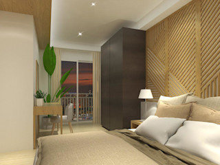 Trivium Apartment (3BR) SAE Studio (PT. Shiva Ardhyanesha Estetika) Modern Bedroom