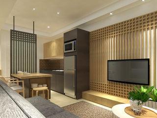 Trivium Apartment (3BR) SAE Studio (PT. Shiva Ardhyanesha Estetika) Modern Living Room