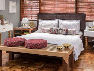 OCHOINFINITO Mobiliario - Interiorismo Eclectic style bedroom Solid Wood