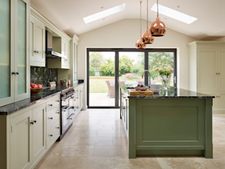 Canterbury   A Vision In Green Davonport KitchenCabinets & shelves Green