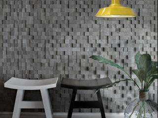 Co&Ca Lighting Flur, Diele & TreppenhausBeleuchtungen Eisen/Stahl Gelb