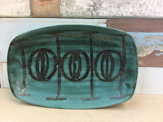 Mid Century Studio pottery dish Rural Retro HouseholdHomewares