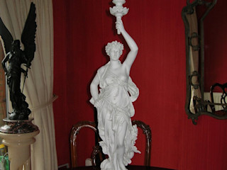 Marble Sculpture The Ancient Home ArtworkSculptures Marble White