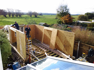 Accessible Accommodation in Somerset Building With Frames Prefabricated home Wood