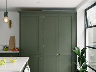 deVOL Kitchens Кухня Масив Зелений