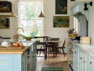deVOL Kitchens Кухня Масив Синій