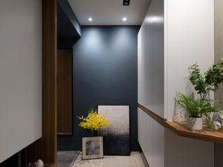 Moooi Design 驀翊設計 Pasillos, vestíbulos y escaleras de estilo escandinavo