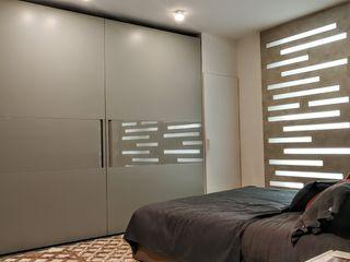 Formarredo Due design 1967 SchlafzimmerKleiderschränke und Kommoden Grau