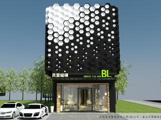磁磚未來展示模式- AI智慧展示空間設計內容 京悅室內裝修設計工程(有)公司 真水空間建築設計居研所 遊艇與噴射機 木頭 Black