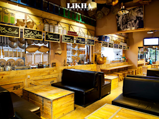 Likha Interior Gastronomy Plywood Wood effect