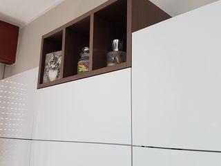 Formarredo Due design 1967 Einbauküche Weiß