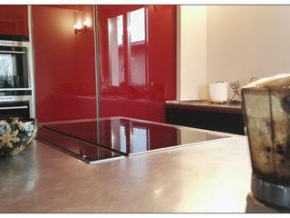 Formarredo Due design 1967 Einbauküche Rot