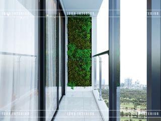 ICON INTERIOR Pasillos, vestíbulos y escaleras de estilo moderno