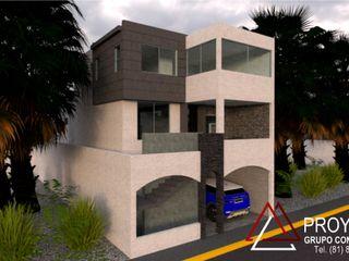 PROYECTA Grupo Constructivo Modern houses Concrete Grey