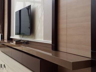 Likha Interior Living room Plywood Brown