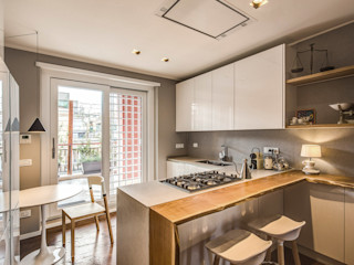 MOB ARCHITECTS Built-in kitchens