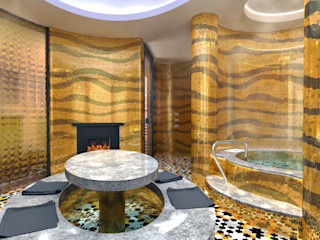 enki design Klasyczne spa Granit