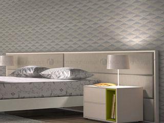 Decordesign Interiores СпальняПриліжкові тумбочки