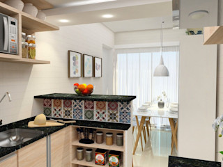 ITOARQUITETURA 廚房收納櫃與書櫃 MDF