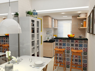 ITOARQUITETURA 廚房收納櫃與書櫃 陶器