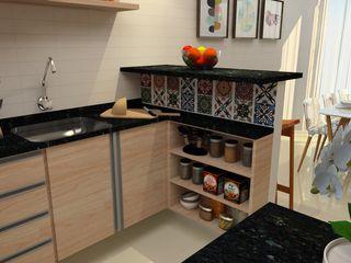 ITOARQUITETURA 廚房洗手台與水龍頭 MDF