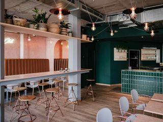 LOVA Modern gastronomy Tiles Green