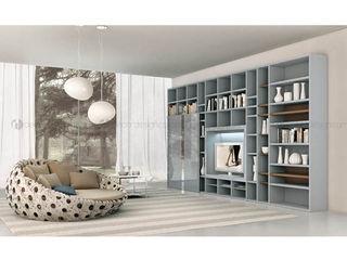 Decordesign Interiores ВітальняПолиці