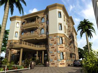 Monoceros Interarch Solutions Villas Sandstone Brown