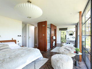 Greenacre Martins Camisuli Architects Eclectic style bedroom