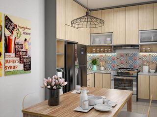 Dapur dan Ruang Makan Vivame Design