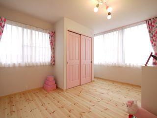 フレンチナチュラルスタイルの家 みゆう設計室 北欧デザインの 子供部屋