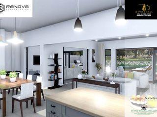 Devonvale Golf & Wine Estate Phase 2 Renov8 CONSTRUCTION Living roomAccessories & decoration