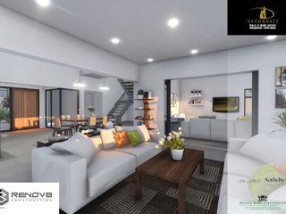 Devonvale Golf & Wine Estate Phase 2 Renov8 CONSTRUCTION Modern living room
