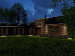 Constructora Rukalihuen Villa Kayu Wood effect
