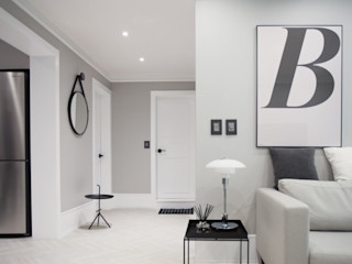 husk design 허스크디자인 Scandinavian style living room