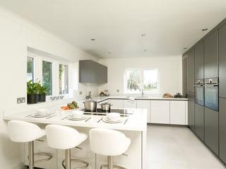 Urban Style Matt Lava Grey & White Gloss Urban Myth 置入式廚房 Grey