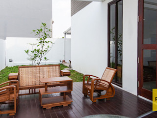RHBW Balcones y terrazas de estilo moderno