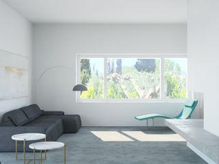 Villa Ansedonia Arabella Rocca Architettura e Design Soggiorno moderno