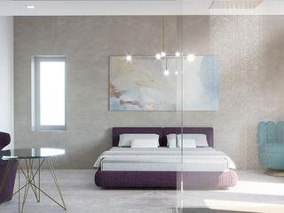 Villa Ansedonia Arabella Rocca Architettura e Design Camera da letto moderna