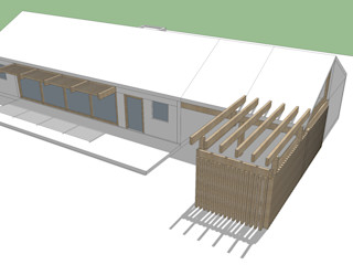 Constructora Rukalihuen Rumah kayu Kayu