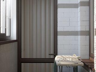 Студия интерьерного дизайна happy.design Minimalist dressing room
