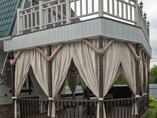 Уличные шторы для веранды DECOR OUTDOOR Балкон, веранда и террасаАксессуары и декор Текстиль Белый