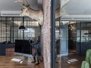 隱室設計 In situ interior design Estudios y despachos de estilo moderno